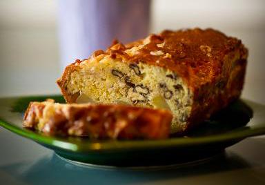 Cake aux poires et Roquefort