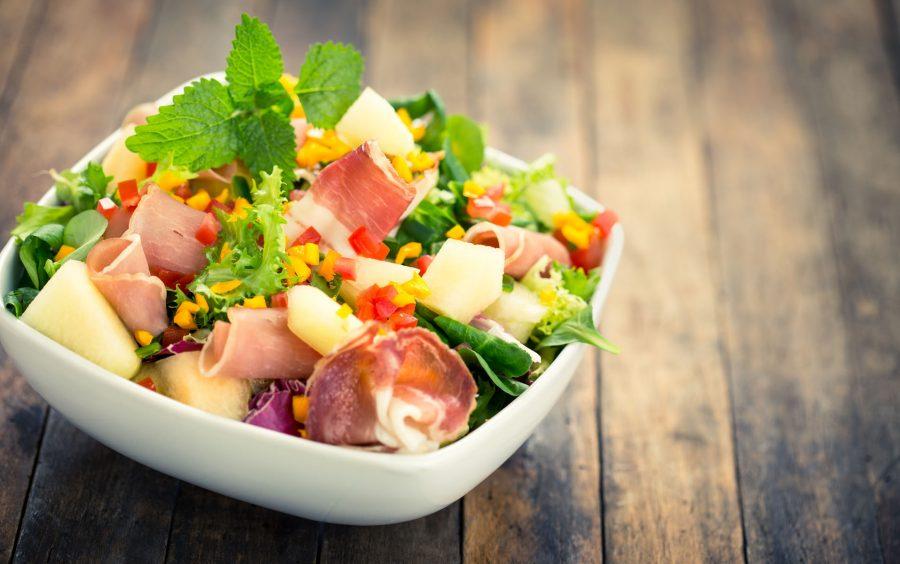 Salade au comté